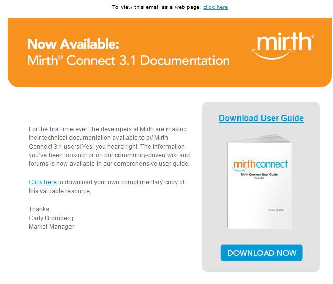 Mirth Connect User Guide