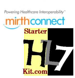 mirth_connect_hl7 starter kit